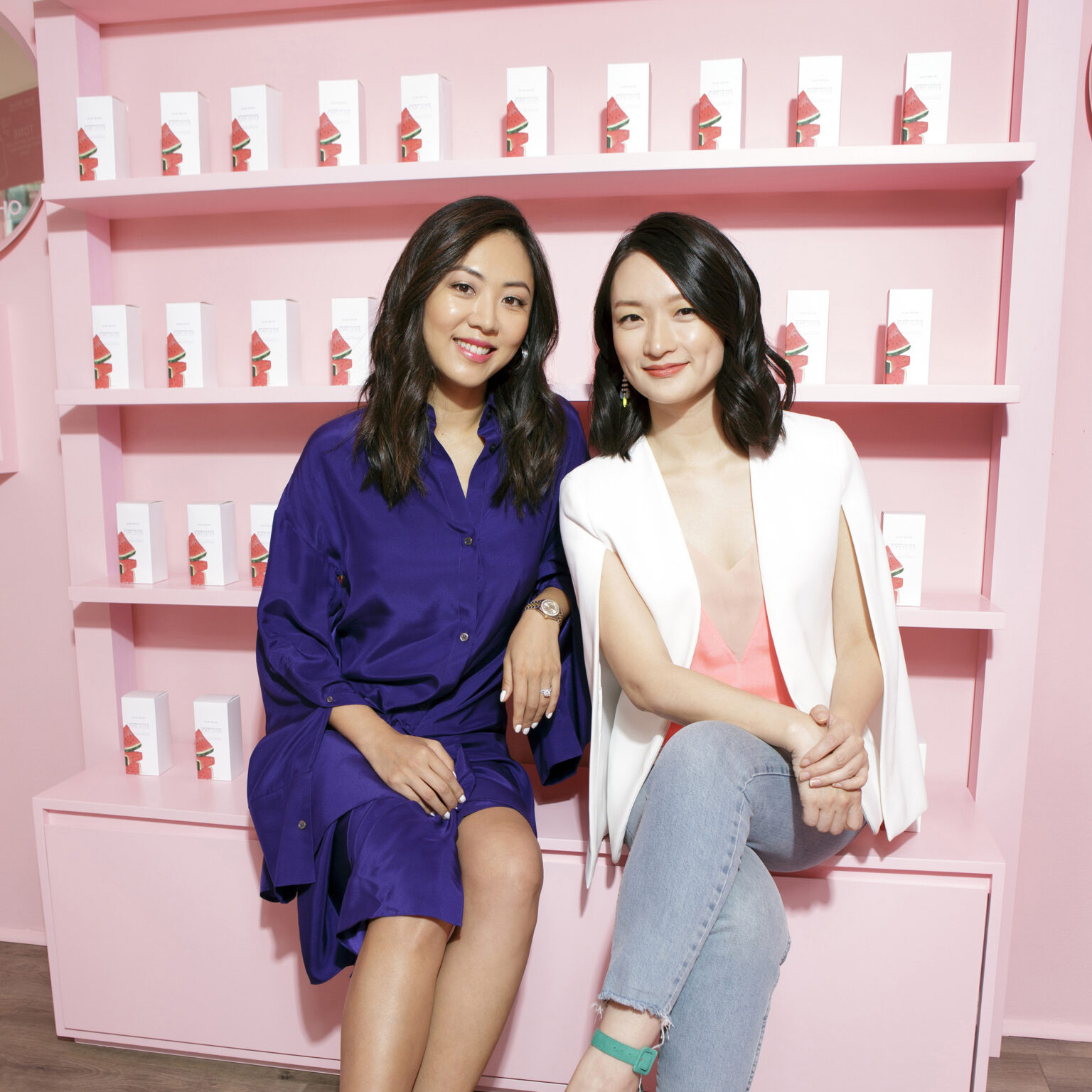 Sarah Lee Left and Christine Chang on the right