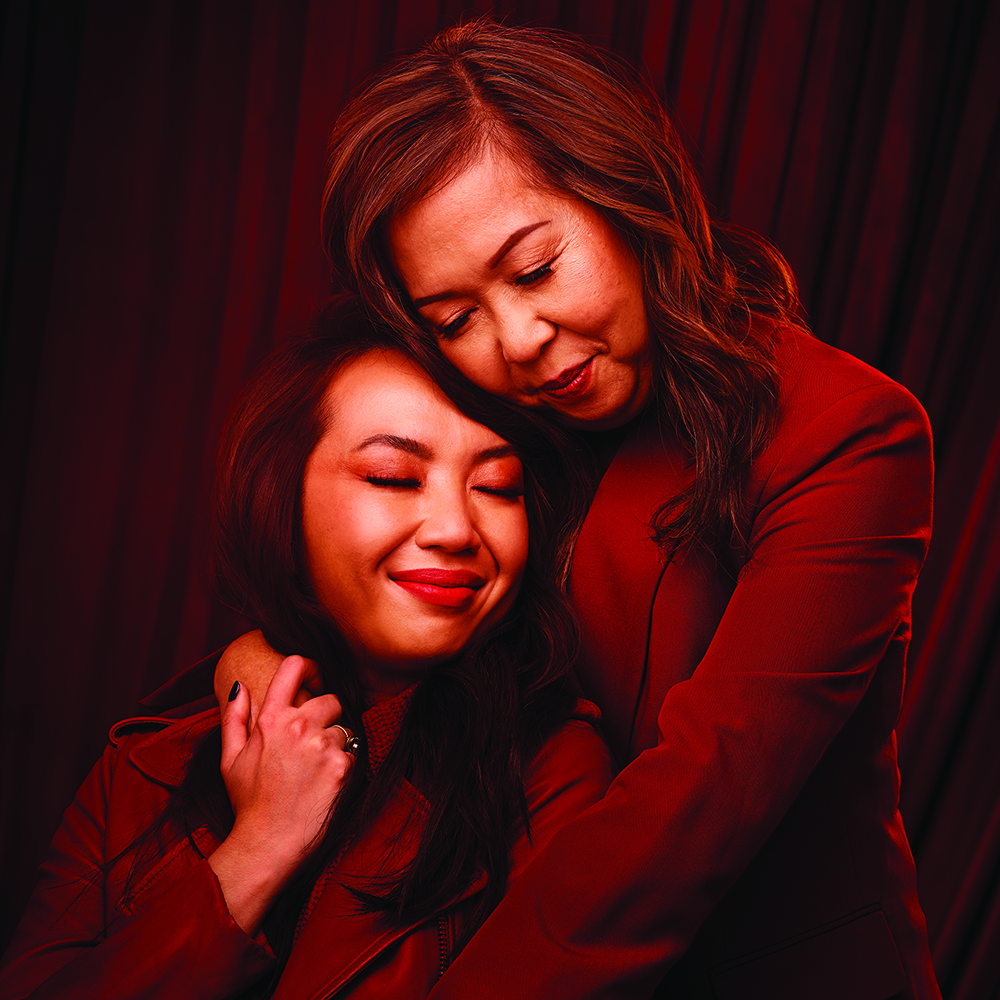 an image of Brigitte Truong and her mother photographed for Sephora Canada's Lunar New Year campaign 2021
